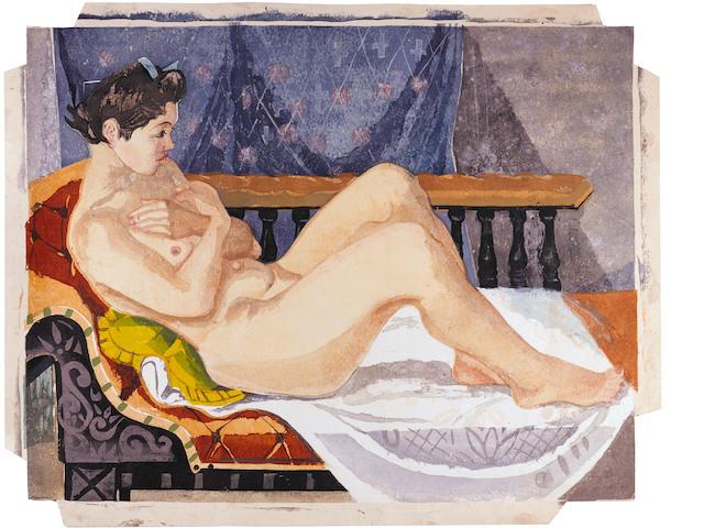 Sekino Jun'ichiro (1914-1988)<BR />One large modern print
