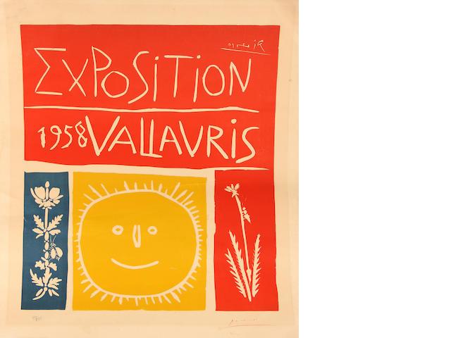 Pablo Picasso (Spanish, 1881-1973); Exposition 1958 Vallauris;