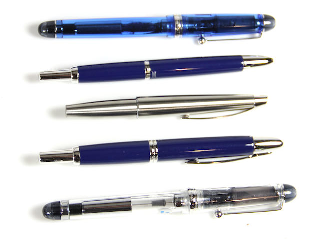 PILOT-NAMIKI: Lot of 6 Pens