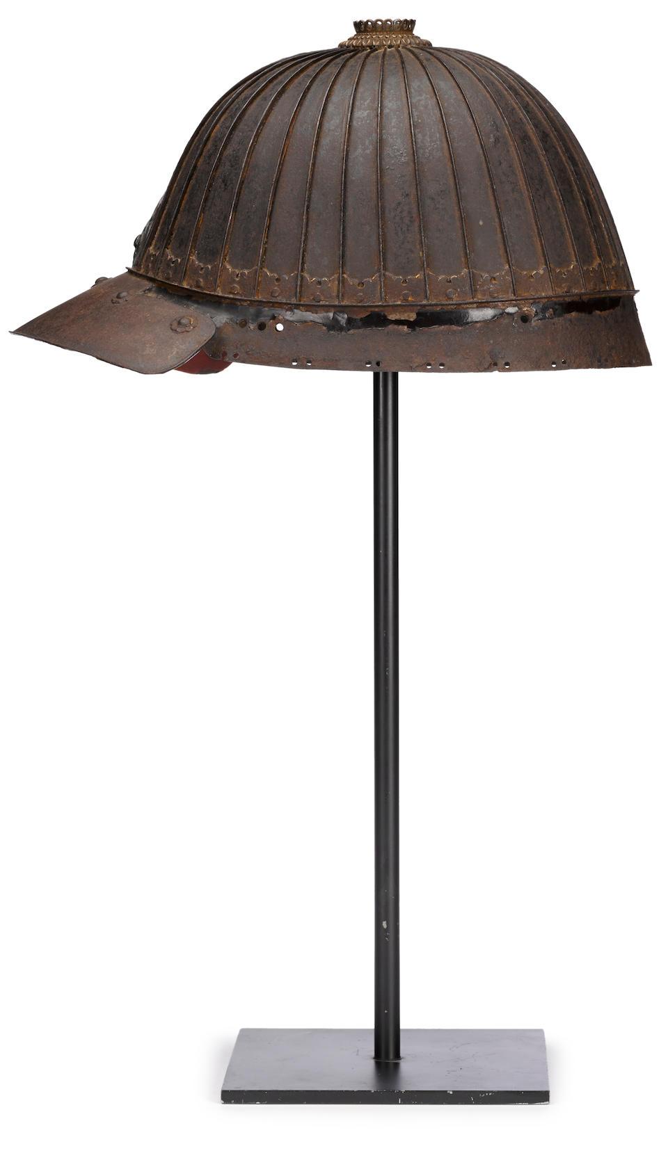 A Saotome kabuto By Saotome Ietada, circa 1600