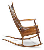 Sam Maloof (American, 1916-2009) Rocking Chair, 1995