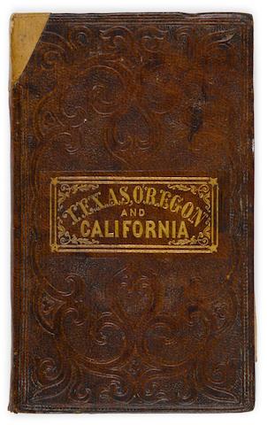 Bonhams Mitchell Samuel Augustus A New Map Of Texas Oregon And