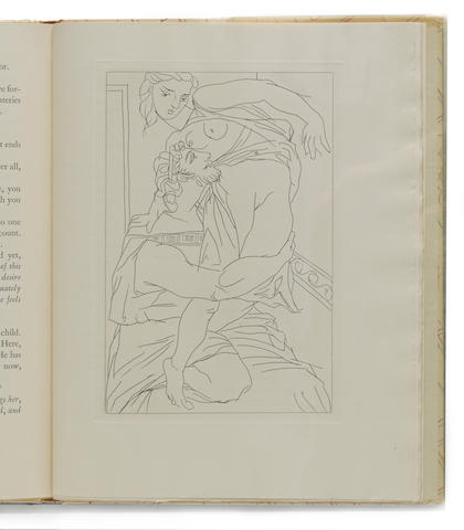 LIMITED EDITIONS CLUB—PICASSO, PABLO, illustrator. ARISTOPHANES. Lysistrata. New York: Limited Editions Club, 1934.