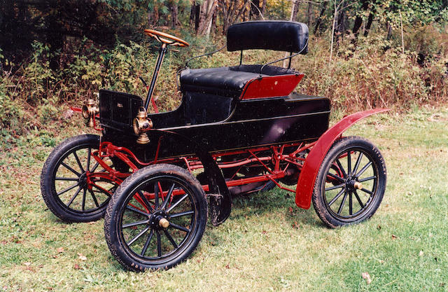 1907 Jewel Model B 8hp Runabout  Engine no. 56