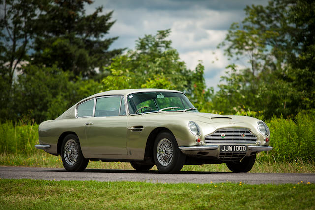 1966 Aston Martin DB6 Vantage Saloon  Chassis no. DB6/2650/R Engine no. 400/2602/V