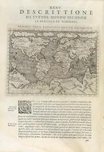 PTOLEMAEUS, CLAUDIUS. 90-168. MAGINI, G.A., ed. Geografia cioè Descrittione Universale della Terra.... Venice: G.B. & G. Galignani Fratelli, 1598.