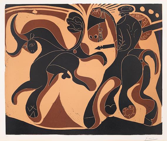 Pablo Picasso (1881-1973); Après la Pique;