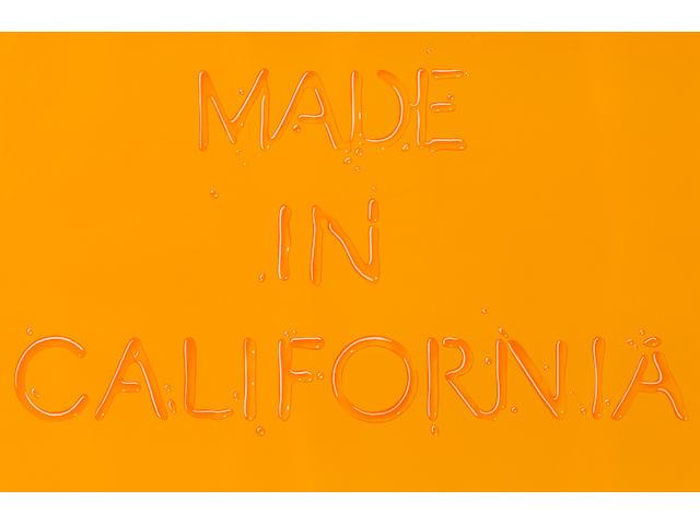 Edward Ruscha (born 1937); Made in California;