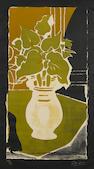 Georges Braque (1882-1963); Feuilles couleur lumière;