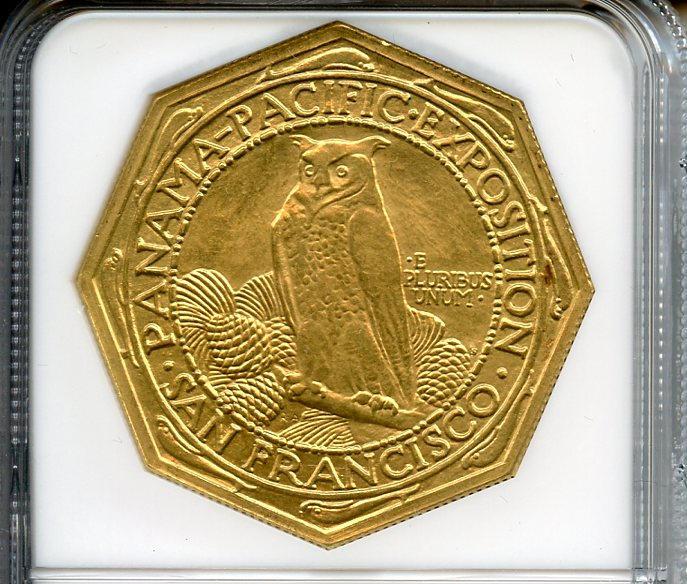 1915-S Panama-Pacific $50 Octagonal MS63 NGC
