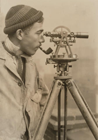 Lewis Wickes Hine (1874-1940); Surveyor, The Empire State Building;