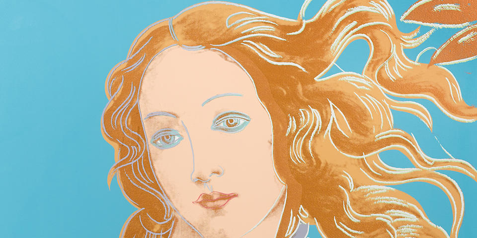 Andy Warhol (1928-1987); Sandro Botticelli, Birth of Venus, 1482, from Details of Renaissance Paintings;