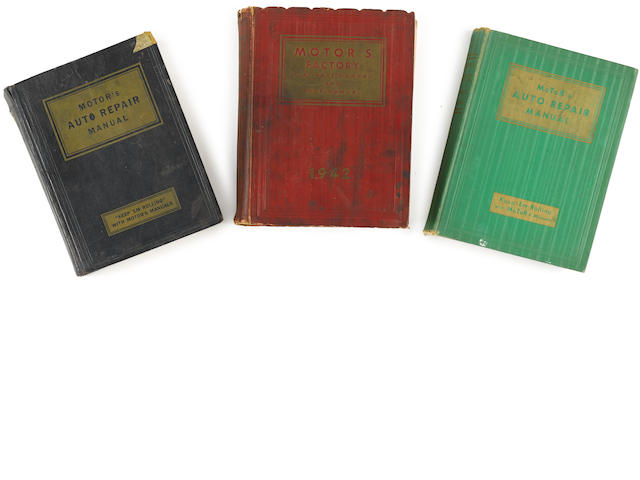 A collection of Chilton and other like motoring books.