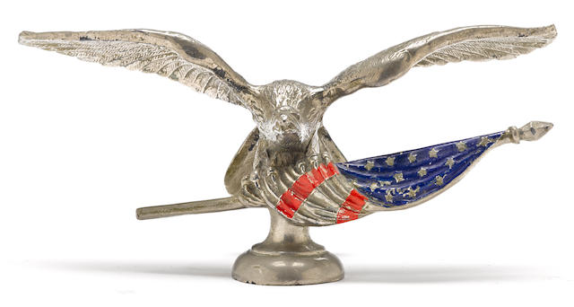 An 'American Eagle' by L.V. Aronson, American, 1919,