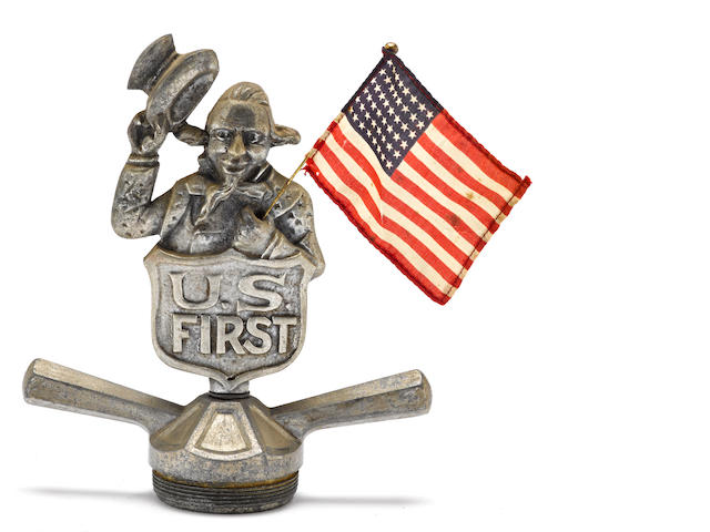A 'U.S. First' Uncle Sam mascot, American, c. 1915,