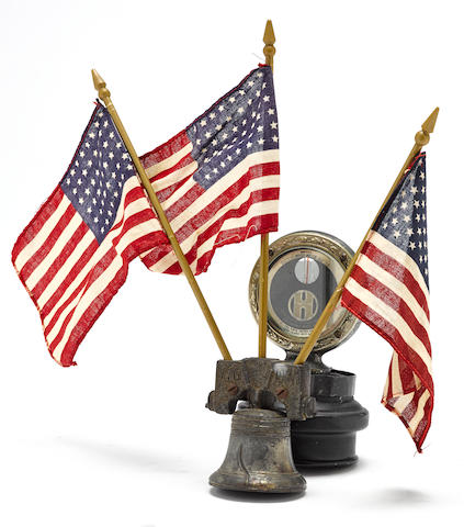A 'Sesquicentennial Liberty Bell' radiator embellishment, c. 1926,