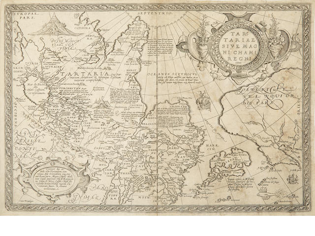 ASIA and TARTARY. A group of 27 engraved maps of Asia and Tartary,