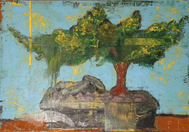 Aaron Fink (American, born 1955) Bonsai, 2005 50 x 72in
