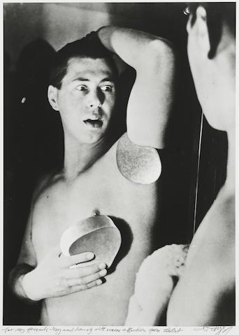 Herbert Bayer (1900-1985); Self-Portrait (Photomontage);