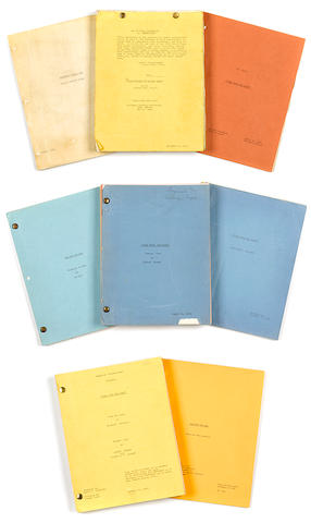 A group of 7 manuscripts, various drafts of the synopsis and screenplay of Gone With the Wind