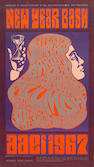 A Bill Graham Presents poster for the Grateful Dead and Jefferson Airplane