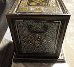 An export lacquer chest Momoyama period (late 16th century)