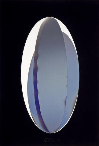 Larry Bell (born 1939) ELBKIN 2, Constructed Vapor Drawing, 1981 53 x 36in. (134.6 x 91.4cm)