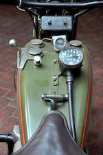 1926 Harley-Davidson JD with Sidecar Engine no. 26J8035