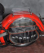 1948 Harley-Davidson FL Engine no. 48FL3302