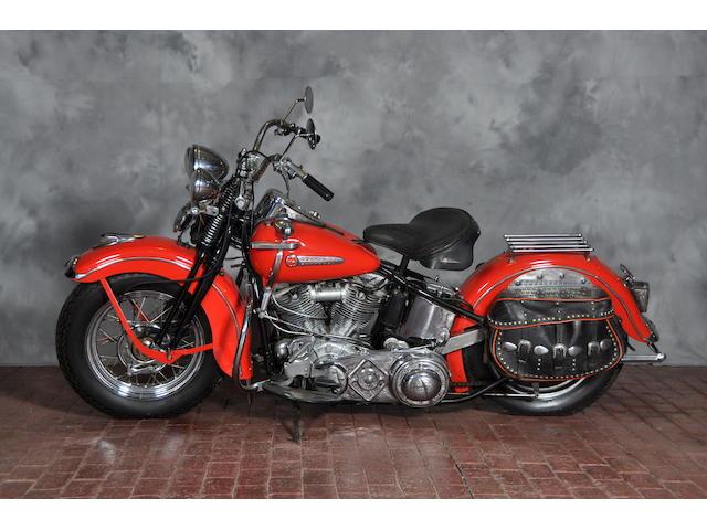 1948 Harley-Davidson FL Frame no. 48FL3302