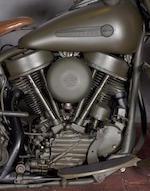 1949 Harley-Davidson FL Engine no. 49FL11528