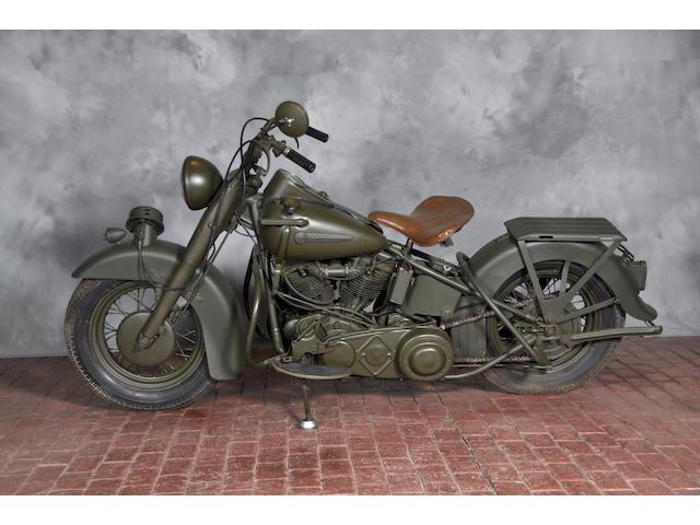 1949 Harley-Davidson FL Frame no. 49FL11528