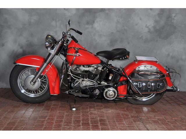 1950 Harley-Davidson EL Frame no. 50EL3431