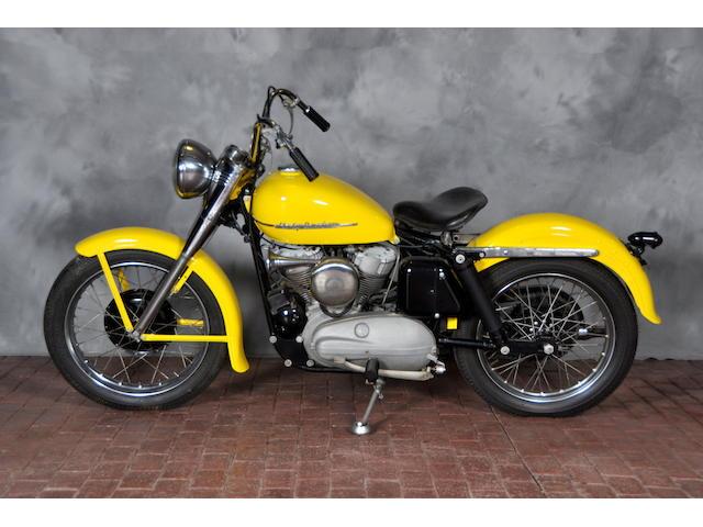 1953 Harley-Davidson KK Frame no. 53KK2817