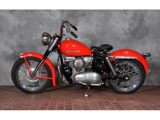 1954 Harley-Davidson KH Frame no. 54KH1258