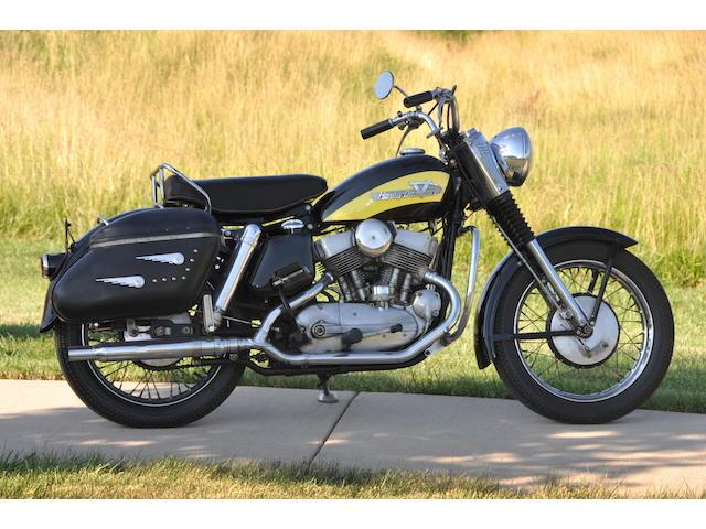1956 Harley-Davidson KHK Frame no. KHK2213