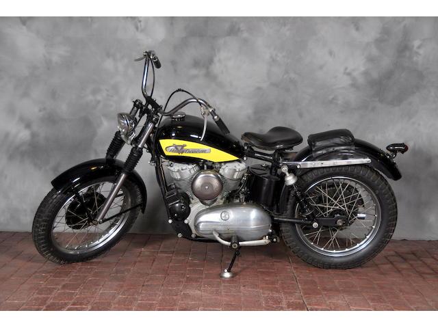 1956 Harley-Davidson KHRM Frame no. KHK1685