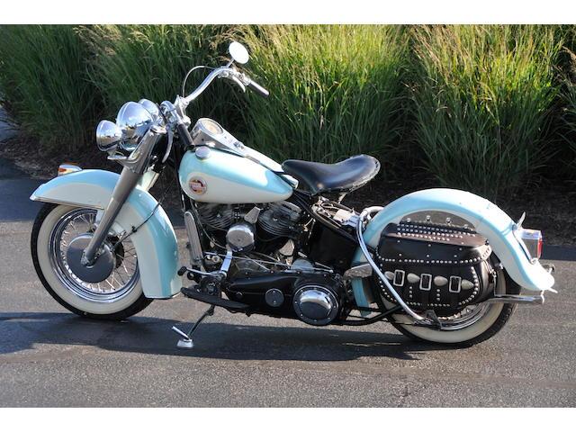 1957 Harley-Davidson FL Frame no. 57FL1239