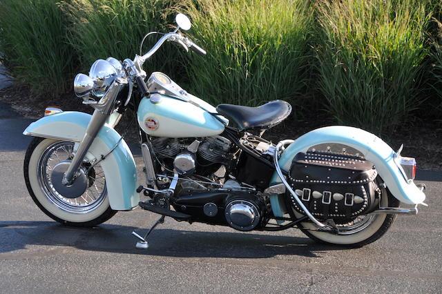 1957 Harley-Davidson FL Engine no. 57FL1239