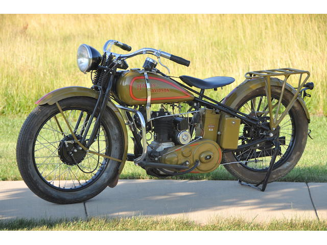 1932 Harley-Davidson Model B Frame no. 32B1302