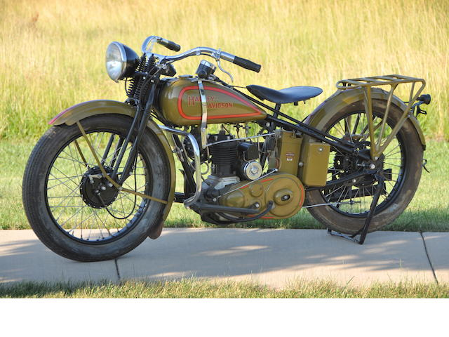 1932  Harley-Davidson Model B Engine no. 32B1302