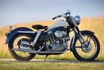 The Earliest Known Example, 10th Built,1957 Harley-Davidson XL Engine no. 57XL1010