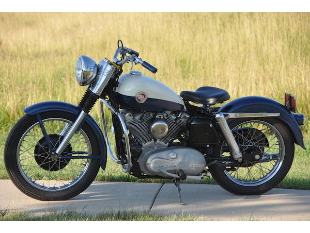1957 Harley-Davidson XL Frame no. 57XL1010