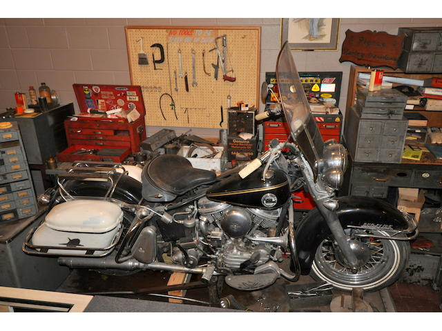 1958 Harley-Davidson FLH Frame no. 58FLH6770