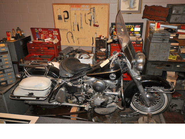 1958 Harley-Davidson FLH Engine no. 58FLH6770