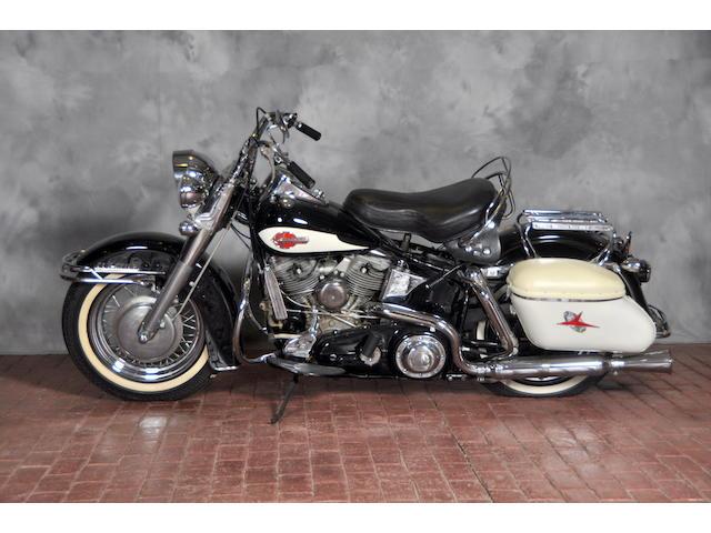 1959 Harley-Davidson FLH Frame no. 59FLH3173