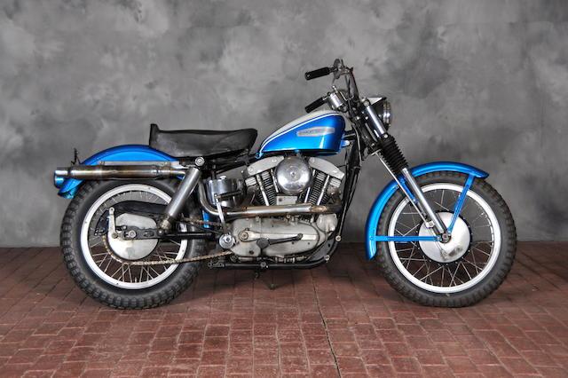 1962 Harley-Davidson XLCH Engine no. 62XLCH2406