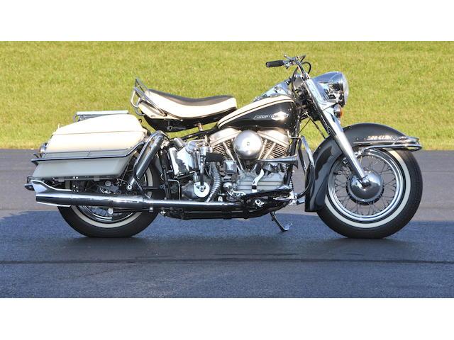 1963 Harley-Davidson FL Frame no. 63FL1307