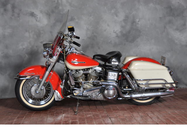 1965 Harley-Davidson FL Engine no. 65FL7903