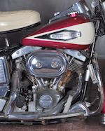 1970 Harley-Davidson FL Engine no. 2A18419H0